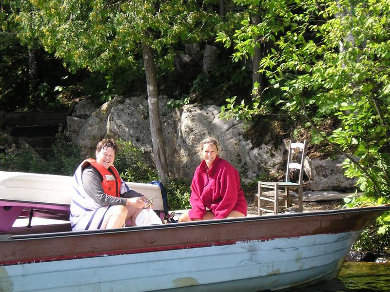 Embarcation (Auteur : CRE Laurentide (2006))