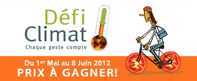 Bandeau Défi Climat (Auteur : CREBSL-2012)